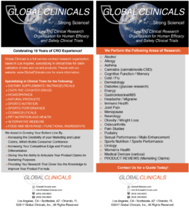 Global Clinicals Flyer on Clinical Research