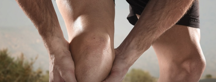 Global Clinicals Joint Health man holding knee